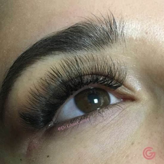 natural lashes extensions