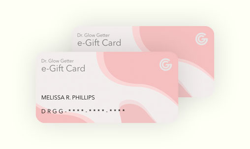 dr glow getter gift cards