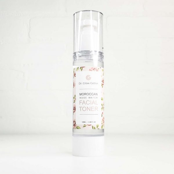 dr glow getter moroccan rose water toner