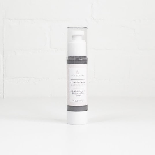 dr glow getter cleanser clarifying